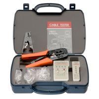 Cabeus HT-2568G Набор инструментов (инструмент обжимной для RJ-45, RJ-12, зачистка, тестер, 60х8P8C, 30x6P6C)