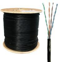 Neomax NM10031 Кабель витая пара UTP (U/UTP), категория 5e, 4 пары 0,5мм (24 AWG) одножильный (solid), для внешней, уличной прокладки (+60 C, -40 C), (бухта 305м)