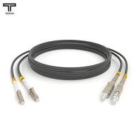 ТЕЛКОМ ШОС-2x3,0-2LC/PC-2SC/PC-MM62,5-20м-LSZH Шнур оптический duplex LC-SC 62,5/125 OM1 многомодовый MM (3.0мм) LSZH, длина 20м