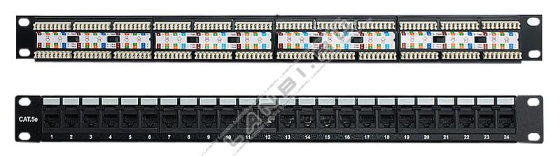 Патч панель 19 коммутационная